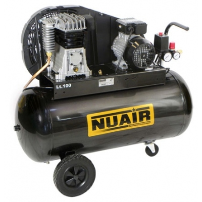 NUAIR COMPRESOR CORREAS B2800-CM 2HP 100L