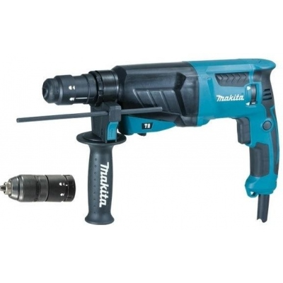 MAKITA HR2630T MARTILLO PERFORADOR SDS-PLUS 800W + PORTABROCAS
