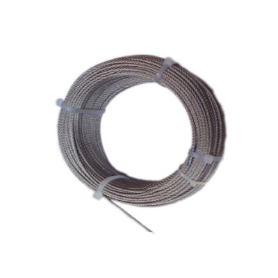 CABLES Y ESLINGAS CABLE ACERO INOX C/D 03/7X07+0