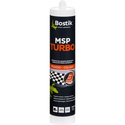BOSTIK ADHESIVO MS TURBO 290ML BLANCO