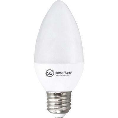 HOMEPLUSS LAMPARA VELA LED E27 6W 3000K