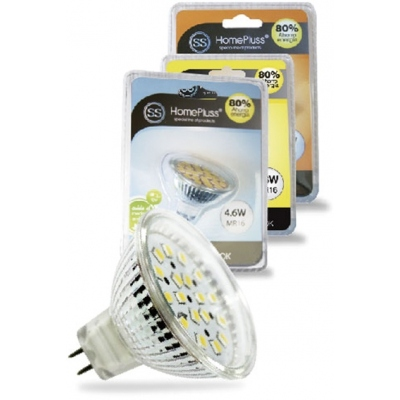 HOMEPLUSS LAMPARA DIC.18LEDS MR16 4,6W 3000K