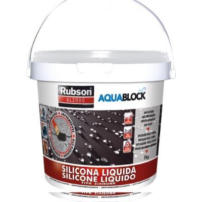 RUBSON SILICONA LIQUIDA SL3000 1890693-1KG GRIS