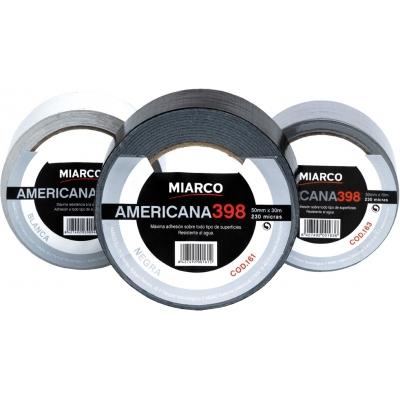 MIARCO CINTA AMERICANA 398-50MMX10M PLATA