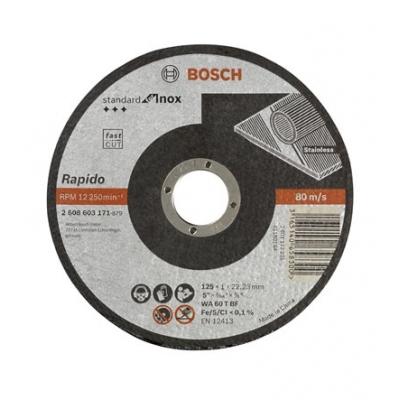 BOSCH CONSTRUCCION / INDUSTRIA DISCO ABRASIVO 125X1,0X22,23MM C.INOX