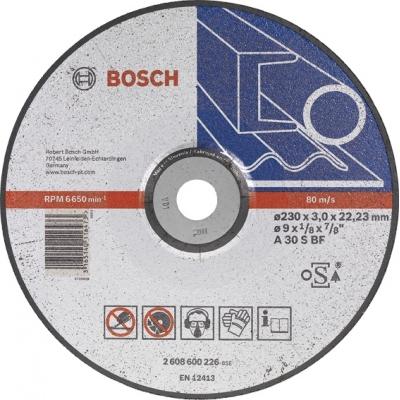 BOSCH CONSTRUCCION / INDUSTRIA DISCO CONCAVO A30S BF 230X3,0X22,23 C.ME