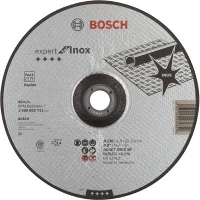 BOSCH CONSTRUCCION / INDUSTRIA DISCO CONCAVO AS46T INOX BF 230X1,9X22,2