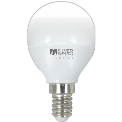 SILVER SANZ LAMPARA ESFER.960214 LED E14 4,5W 3000K