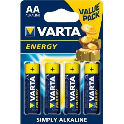VARTA PILA ALCALINA ENERGY 4106-LR-06 AA (4UDS)
