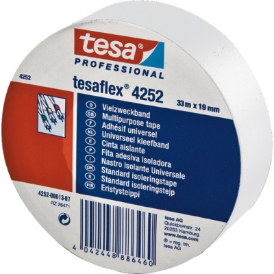TESA-TAPE CINTA AISLANTE 04252-33MX25MM NEGRO