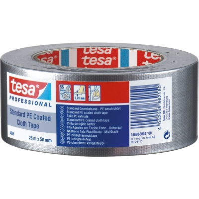 TESA-TAPE CINTA AMER.GAFFER 04688-25MX50MM ROJA