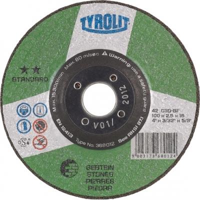 TYROLIT DISCO 42X C30-BF 115X2,5X22,2 STANDARD