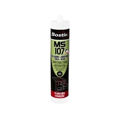 MS 107 NEGRO BOSTIK 290ML