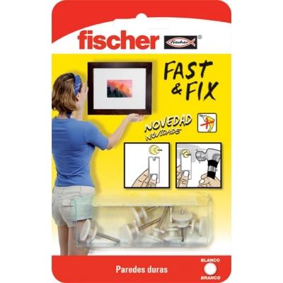 FISCHER COLGADOR CUADROS 534843 FAST&FIX 1PUN BL