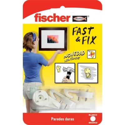 FISCHER COLGADOR CUADROS 534844 FAST&FIX 3PUN BL