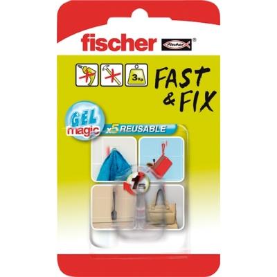 FISCHER COLGADOR GANCHO 533609 FAST&FIX TRANS.BL