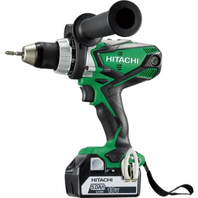 HITACHI TALADRO ATORNILLADOR DS18DSDLWJ 18V 2BAT LITIO 5.0 AH