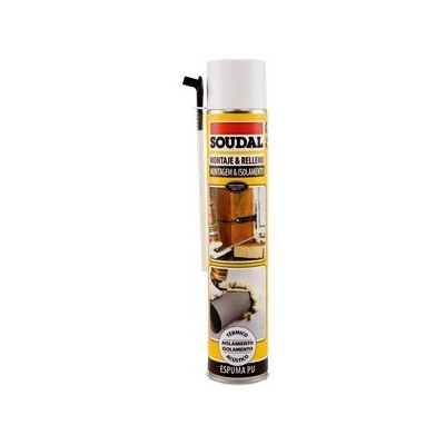 ESPUMA MANUAL PU SOUDAL 750ML