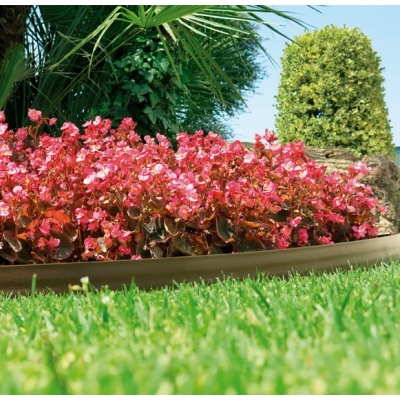 NORTENE BORDURA BARK BORDER 9CMX10M MARRON CLARO