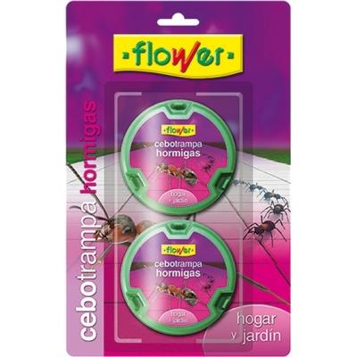 FLOWER ANTIHORMIGAS CEBO TRAMPA 20536 2X10GR BL