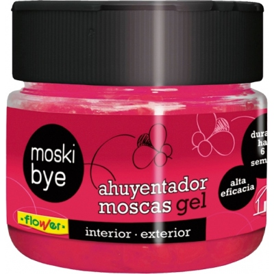 GEL REPELENTE MOSCAS 1-20571 125GR FLOWER
