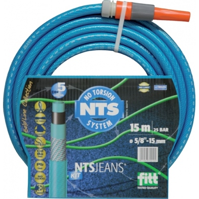 MANGUERA NTS JEANS KIT C/A-15MM R/25MT FITT