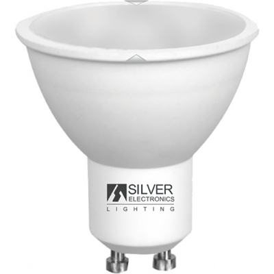LAMPARA ECO 1440 MULTI-LED GU10 7W 3000K SILVER SANZ