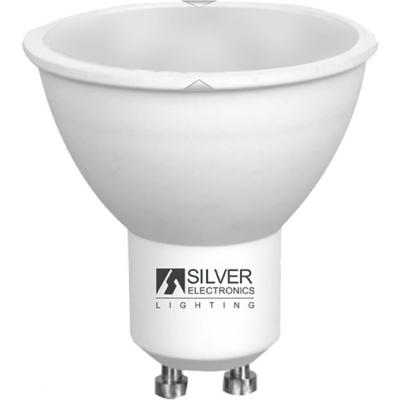 LAMPARA ECO 1460 MULTI-LED GU10 7W 6000K SILVER SANZ