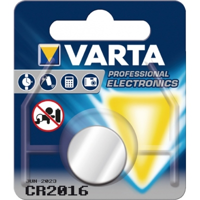 PILA LITIO 6016112401 CR2016 3V VARTA VARTA