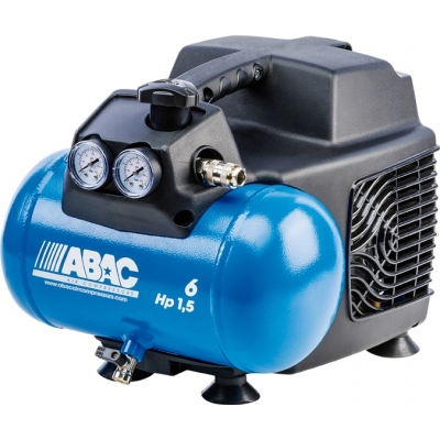 ABAC COMPRESOR START O15 1,5HP 6L SIN ACEITE