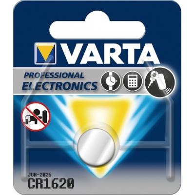 PILA BOTON LITIO CR1620 3V VARTA VARTA
