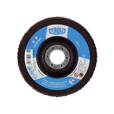 TYROLIT DISCO LAMINA ZIRCONIO G60-115X22 454393