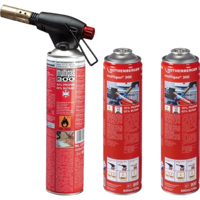 ROTHENBERGER PACK SOPLETE ROFIRE+3CARGAS P00555516