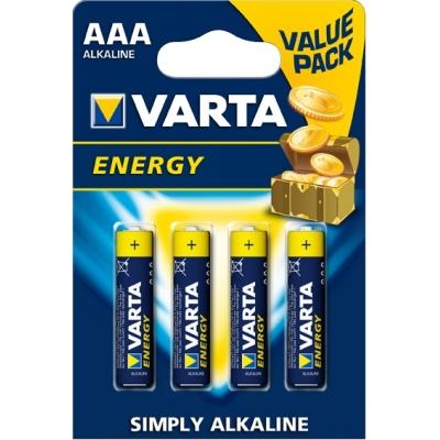 VARTA PILA ALCALINA ENERGY 4103-LR-03 AAA (4UDS)