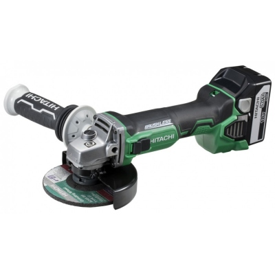 HITACHI G18DBBL AMOLADORA 125MM 18V 5.0AH LITIO