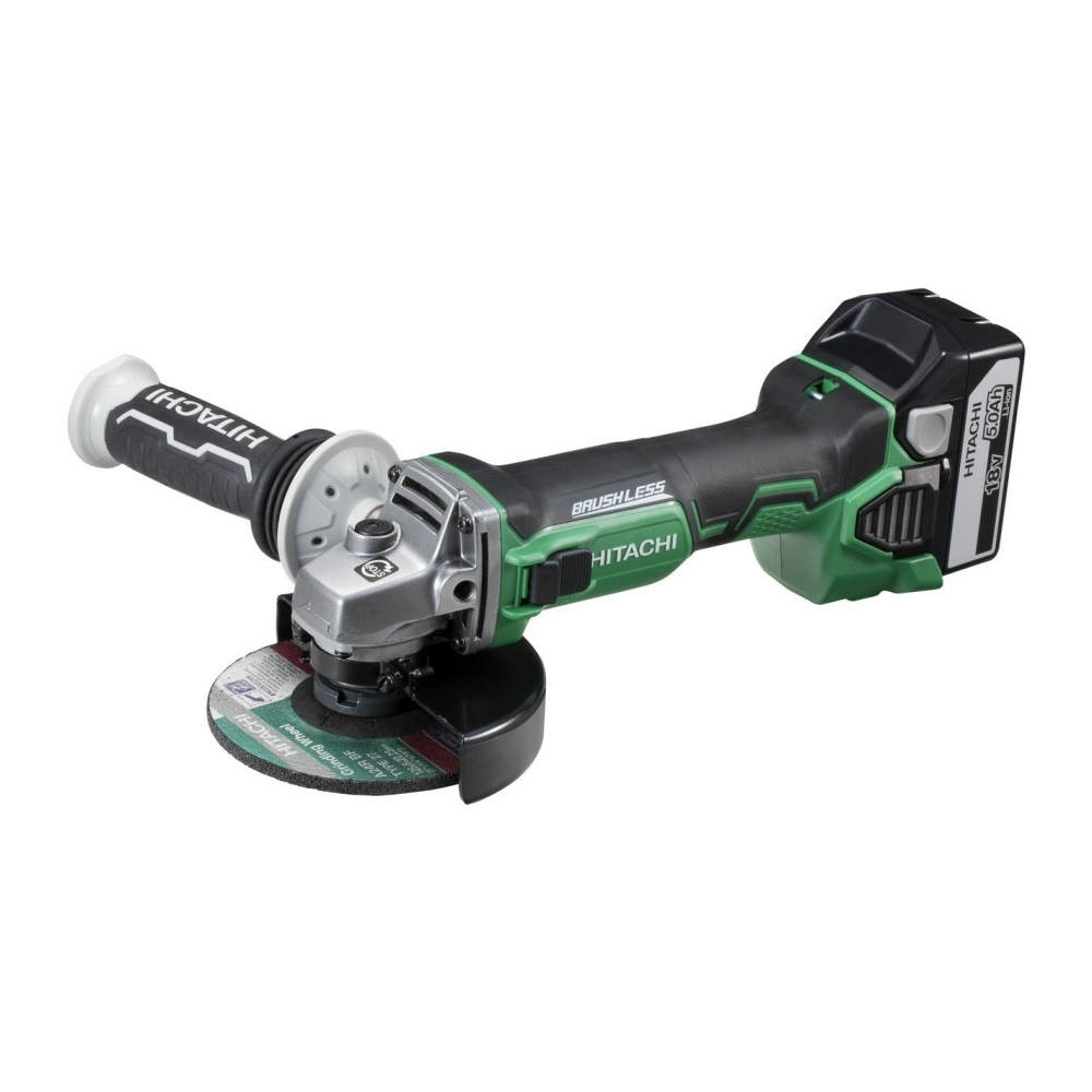 HITACHI G18DBBL MINI AMOLADORA 125MM 18V 6.0AH LITIO