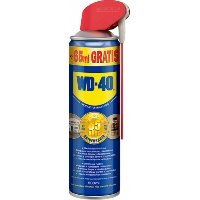 ACEITE WD-40 SPRAY 500ML 34623 CABEZAL DOBLE ACCION