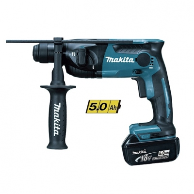 MAKITA DHR165RTJ MARTILLO PERFORADOR 18V 5,0 Ah