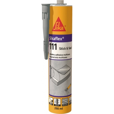 SIKA SIKAFLEX 111 STICK&SEAL 290ML GRIS