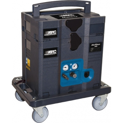 ABAC COMPRESOR MULTIBOX COMBY 1,5HP 6L SIN ACEITE