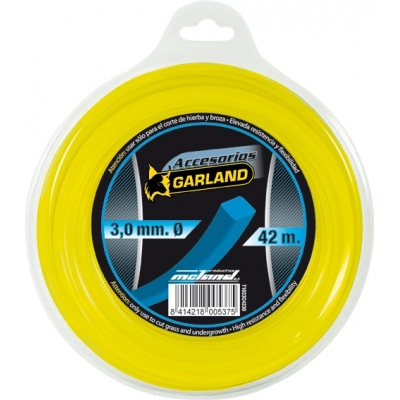 GARLAND HILO NYLON CUADRADO C4230-3,0MMX42M