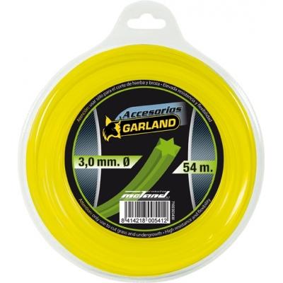 GARLAND HILO NYLON HELICOIDAL E5430-3,0MMX54M