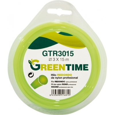 GREEN TIME HILO NYLON REDONDO GTR3015 3,0MMX15M