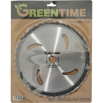GREEN TIME DISCO WIDIA 40D.GT4025525/A 255X1,5X25,4