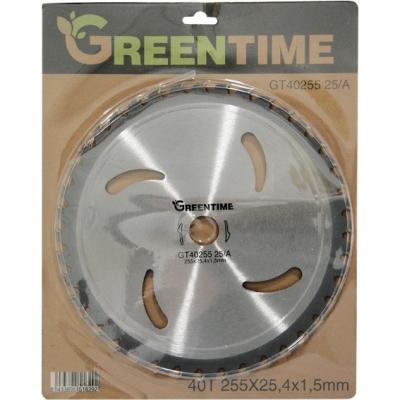 GREEN TIME DISCO WIDIA 40D.GT4025525/A 255X1,5X25,4