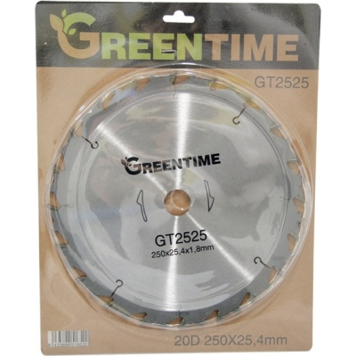 GREEN TIME DISCO WIDIA 20D.GT2525 250X1,8X25,4