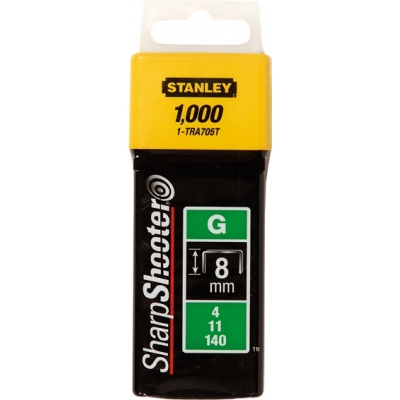STANLEY GRAPA TIPO G(4/11/140) 08MM C-1000