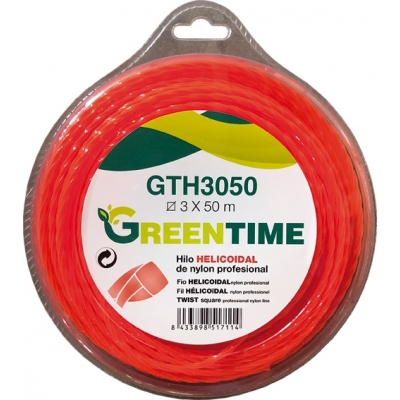 GREEN TIME HILO HELICOIDAL GTH3050 3,00MMX50M