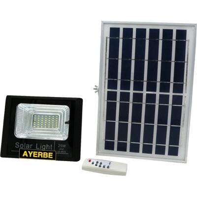 AYERBE PROYECTOR LED 25W SOLAR 0960LUM.620630