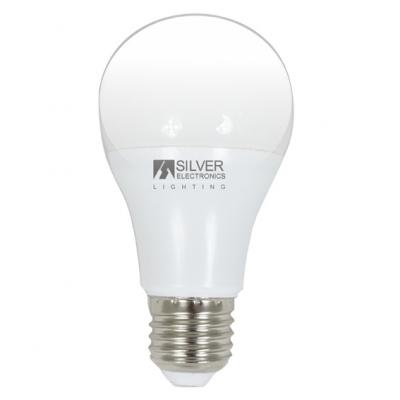 SILVER SANZ LAMPARA ESTAND.981727 LED E27 7W 6000K
